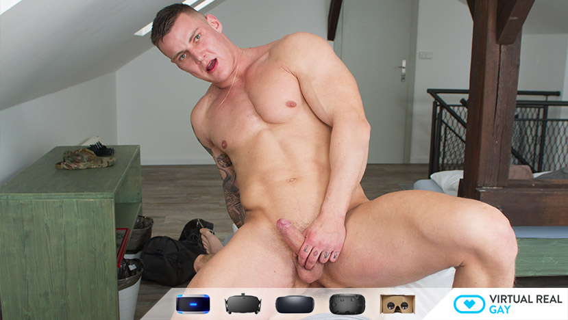 Sex VR Gay Porn Photo Hot soldier