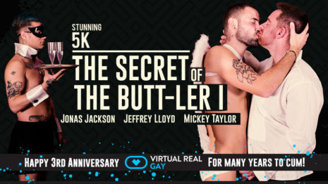 The secret of the butt-ler I